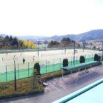 落合総合公園テニス場